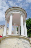 Sculpture in the rotunda in Feodosia Royalty Free Stock Photos