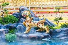 Sculpture at royal crematorium of King Bhumibol Adulyadej. Sculpture at royal crematorium of King Bhumibol Adulyadej at Bangkok Stock Photos