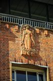 Sculpture on Royal Shakespeare Theatre. Stock Photography