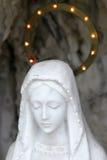 Sculpture of saint maria Royalty Free Stock Image