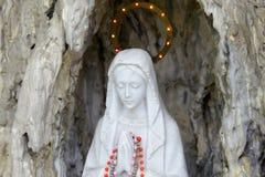 Sculpture of saint maria Stock Photography