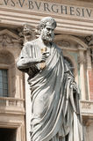 Sculpture of Saint Peter, Vatican Stock Photography