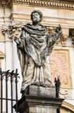 Sculpture of saints at Church of the Apostles St. Peter and Paul in Old Town of Krakow in Poland Royalty Free Stock Photo