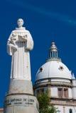 Sculpture in Sameiro stock image