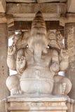 Sculpture in Sasivekalu Ganesha monument, Hampi, Karnataka. Sculpture in Sasivekalu Ganesha monument in Hampi, Karnataka, India, Asia royalty free stock images