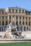 Sculpture in the Schonbrunn Palace in Vienna. Royalty Free Stock Photography