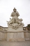 Sculpture in schonbrunn Royalty Free Stock Images