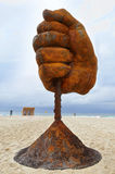 Sculpture by the Sea - Dust Royalty Free Stock Photography