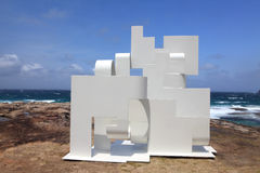 Sculpture by the Sea exhibit at Bondi Australia Stock Photos