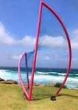 Sculpture by the Sea exhibit at Bondi Australia Royalty Free Stock Photos