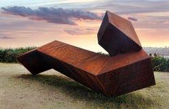 Sculpture by the Sea exhibit at Bondi, Australia Royalty Free Stock Photo