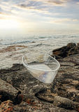 Sculpture by the Sea exhibit at Bondi, Australia Royalty Free Stock Image