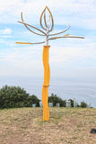 Sculpture by the Sea exhibit Stock Photo