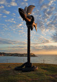 Sculpture by the Sea - Flying Fish Stock Image