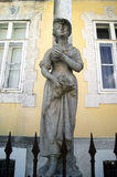 Sculpture from the series Seasons, Cetinje Royalty Free Stock Images