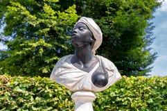 Sculpture slave noire Image stock