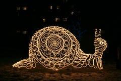 sculpture snail yard Στοκ Εικόνες