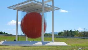 Sculpture Soto sphere in Caracas  Venezuela Stock Photography