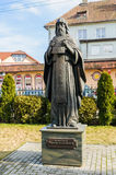 Sculpture of a St. Gerasim Boldinsky. Kaliningrad Royalty Free Stock Photos