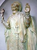Sculpture of St. Vladimir Royalty Free Stock Photography
