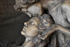 Sculpture, Statue, Head, Stone Carving