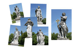 Sculpture statues Royalty Free Stock Photo