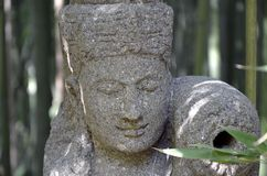 Sculpture, Stone Carving, Statue, Head Stock Photo