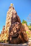Sculpture stone. In Pratard phasornkaew Temple,Phetchabun Province, thailand Stock Photography