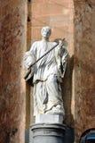 Sculpture. In the streets of Valletta, Malta Stock Photo