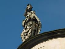 Sculpture sur l'église dominicaine Images libres de droits