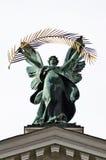 Sculpture symbolizing the glory Stock Photo