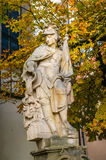 Sculpture in Tabor city, Czech Republic Royalty Free Stock Photography