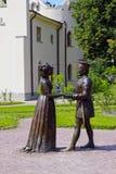 Sculpture A. Taratynov by «Duke Federigo da Montefeltro of Urbi Stock Photo
