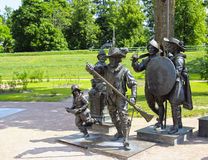 Sculpture A. Taratynov par la peinture de Rembrandt Images libres de droits