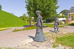 Sculpture Teacher of gymnasim Royalty Free Stock Photo