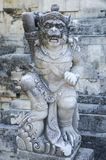 Sculpture in temple bali indonesia Stock Images
