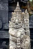 Sculpture in temple Bali, Indonesia Royalty Free Stock Photo