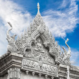 Sculpture of temple Royalty Free Stock Photos
