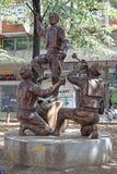 Sculpture Teshkoto Skopje Photos stock