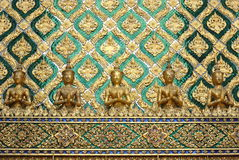 Sculpture thaïe Photographie stock