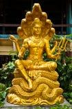Sculpture thaïe Images libres de droits