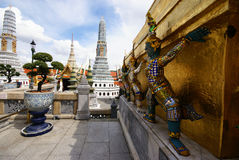 Sculpture thaïe Photographie stock libre de droits