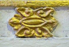 Sculpture thaïlandaise en religion Images stock