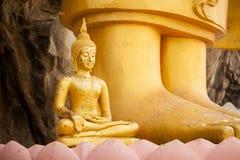 Sculpture of thai Buddha Stock Photos