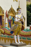 Sculpture at the Thai temple Wat Chayamangkalaram Stock Images