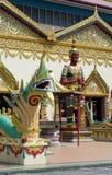 Sculpture at the Thai temple Wat Chayamangkalaram on island Pena Royalty Free Stock Photography