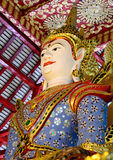 Sculpture Thailand Burmese Style Royalty Free Stock Photo