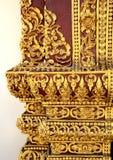Sculpture Thailand Lanna architecture Stock Images