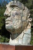 Sculpture Tindaro Screpolato by Igor Mitoraj in Boboli Gardens Stock Images
