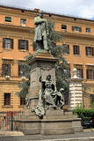 Sculpture to Quintino Sella in Rome, Italy Royalty Free Stock Photo